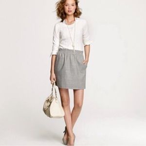 J. Crew • Wool Blend City Mini with Pockets